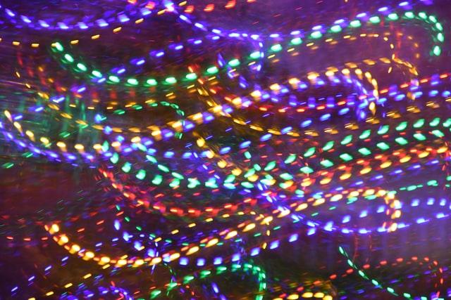 Utilisez des rubans LED pour personnaliser votre décoration